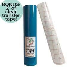 Adhesive Vinyl Rolls For Cricut Permanent Vinyl 12in X 10ft Adhesive Vinyl Adhesive Cricut Vinyl