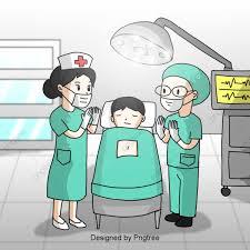 تصميم العناصر الجراحية للأطباء المرسومة باليد طبيب رسمت باليد