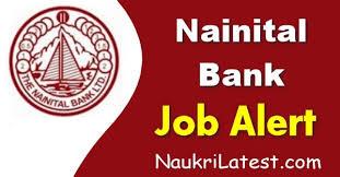 नैनीताल बैंक भर्ती Nainital Bank Recruitment 2020