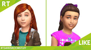 The Sims 4 Kids Room Stuff New Hairstyles Screen