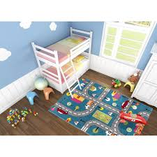 Zoomie Kids Howton Abstract Blue Gray Area Rug Reviews Wayfair