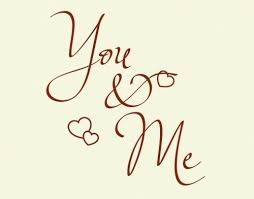 Style And Apply You And Me Wall Decal Wayfair