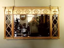 a gilt overmantle mirror mirrors pictures
