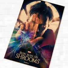 Doctor Strange Wall Mural Poster Decorative Diy Wall Canvas Painting Stickers Home Posters Bar Art Decor Wall Sticker Art Decordecor Diy Aliexpress