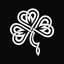 Celtic Knot Irish Shamrock Vinyl Decal Sticker Clover Ireland St Patrick S Day Car Decal Car Stickers Window Decal Wall Sticker Decal Sticker Car Truck Window Die Cut Vinyl 15x14 Cm Wish
