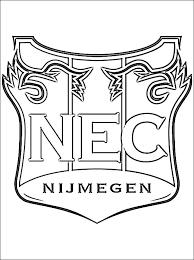N E C Logo Kleurplaat Gratis Kleurplaten