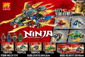 Lele 31174 (NOT Lego Ninjago Movie Ninja:masters Of Spinjitzu ...