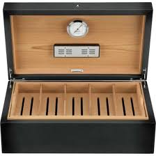 montblanc black sartorial table humidor