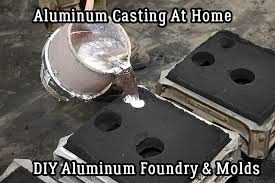 diy aluminum foundry molds