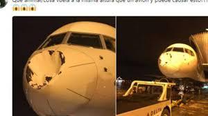 Paura in volo: aereo colpito - www.inews24.it