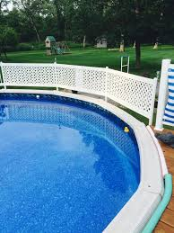 Me Creating A Privacy Fence Swimming Pools Backyard Above Ground Pool Fence Above Ground Pool Decks
