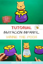 Invitacion Winnie The Pooh Winniethepooh Christopherrobin
