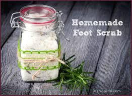 homemade foot scrub a recipe to get