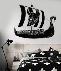 Car Bikes Boats Wall Vinyl Decal Tagged Wall Decal Pirate Ship Wallstickers4you