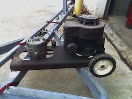 small est engine powered auto alternator