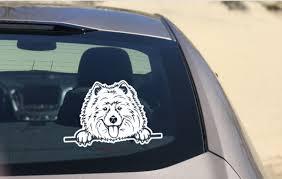 Samoyed Dog Car Decal Sticker