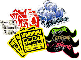 Super Thick Custom Printed Small Run Decals Stickers Sports Company Memorial Decals