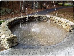 ideas backyard splash pad