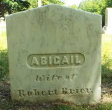 Abigail Pierce Brier (1776-1859) - Find A Grave Memorial