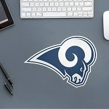 Fathead Nfl Los Angeles Rams Logo Large Wall Decal Bed Bath Beyond
