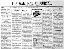 google wall street journal we ll it