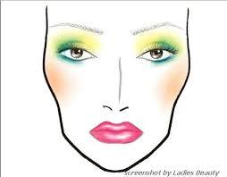 makeup face charts mac saubhaya makeup