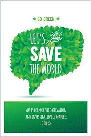 eurekadesigns poster lets save the world paper print quotes