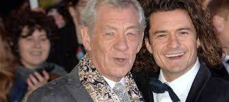 Sir Ian McKellen and Orlando Bloom Have a 'LOTR' Reunion in London ...