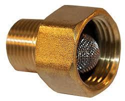 garden hose pump inlet