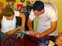 homemade soppressata or soupie