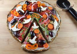 raw flourless pizza crust recipe using