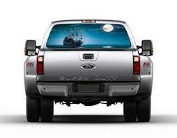 Pirate Ship Car Rear Window Graphic Decal See Through Sticker Truck Suv Van 056 Ebay