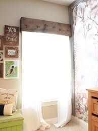 easy diy wooden window cornice