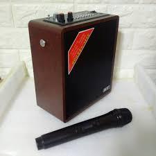 Tặng Mic & Pin] Loa Bluetooth Karaoke Mini Zansong A061 - BH 6 tháng