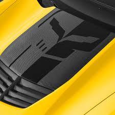 2019 Corvette Decal Package Hood Stinger Jake Logo In Black All Models 23270637