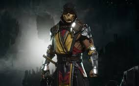 mortal kombat 11 scorpion wallpapers on
