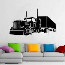 Best Sale 1082f3 Big Truck Wall Decal Car Poster Vinyl Window Stickers Nursery Kids Boys Bedroom Garage Home Decoration Creative Wallpaper E553 Cicig Co