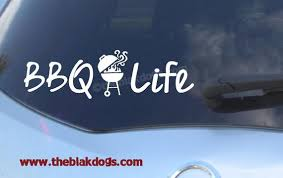 Bbq Life Barbeque Life Vinyl Sticker Car Decal Etsy