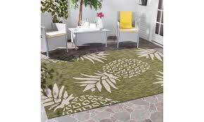 lr home tropical pineapple green