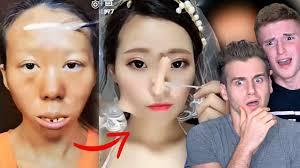 asian make up transformation tutorial