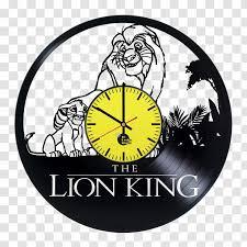 Simba The Walt Disney Company Phonograph Record Wall Decal Art Logo King Transparent Png