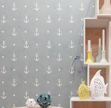 Wall Stencil Kids Room Anchors Pattern Wall Stencil Modern Etsy