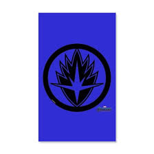 Guardians Of The Galaxy Symbol 35x21 Wall Decal By Marvel Cafepress