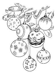 Kleuren Nu Kerstballen Kerstmis Kleurplaten