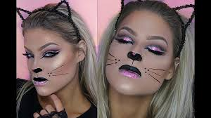halloween makeup tutorial glam kitty