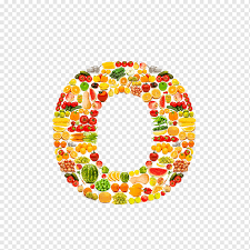 Vegetable Letter Fruit Vitamin C O Food Orange Osito Marinero