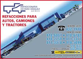 Refaccionaria Octavio Vázquez Sa De Cv Refacciones Y Accesor