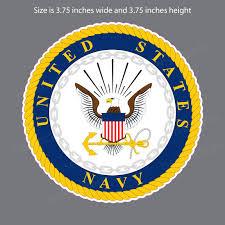 United States Us Navy Logo Vinyl Decal Sticker