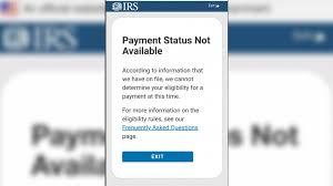 stimulus check using the IRS ...