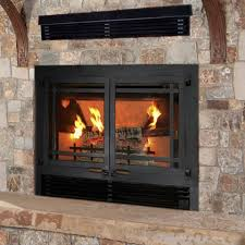 wilkening fireplace wood burning gas